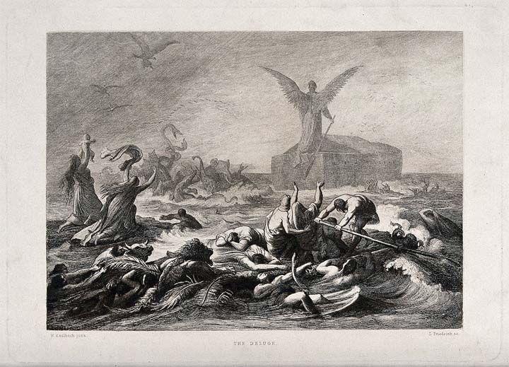 Este relato asirio contó el Diluvio Universal demasiado anteriormente que la Biblia