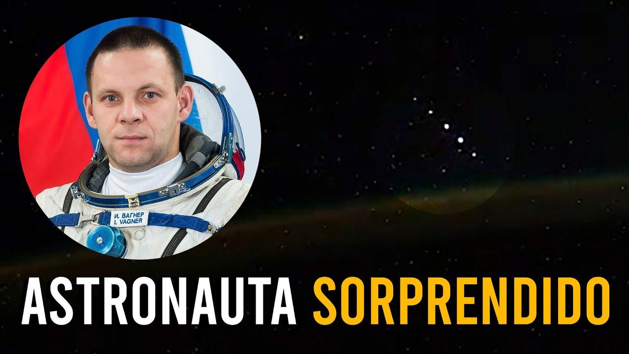 FLOTA OVNI en Formación DESCONCIERTA al Astronauta IVAN VAGNER