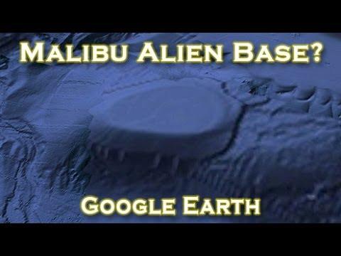 Hallan una «base» submarina de ovnis frente a la costa de Malibú
