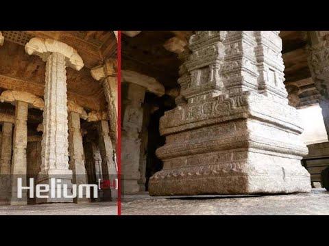 «Pilar flotante» hallado en el templo Lepakshi