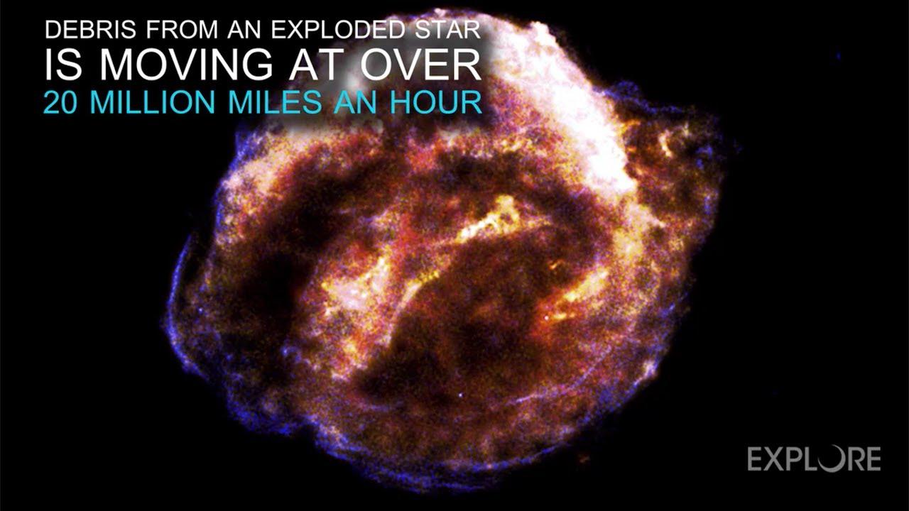 Una explosión cósmica que no se detiene en 400 años