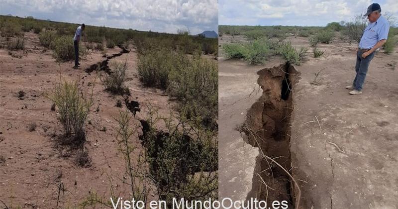 América del Norte puede dividirse por la mitad: se forman grietas gigantes en el suelo