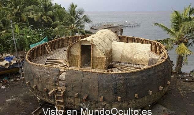 El «Arca de Noé» pudo tener forma circular, según esta tablilla de Babilonia