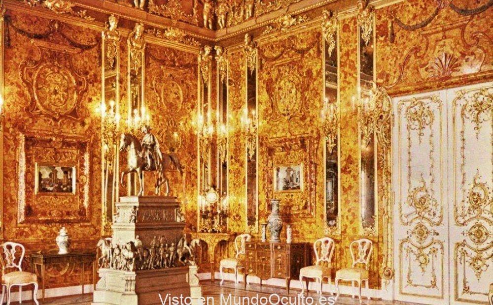El misterio del Salón de Ámbar que los nazis robaron a la URSS
