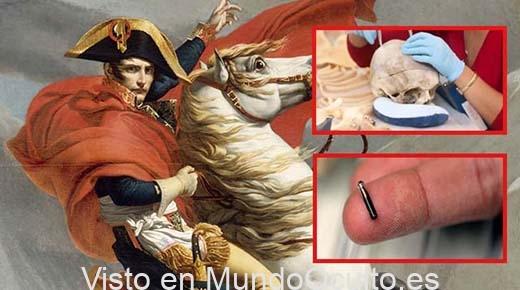 El misterioso microchip extraterrestre hallado en el cráneo de Napoleón Bonaparte