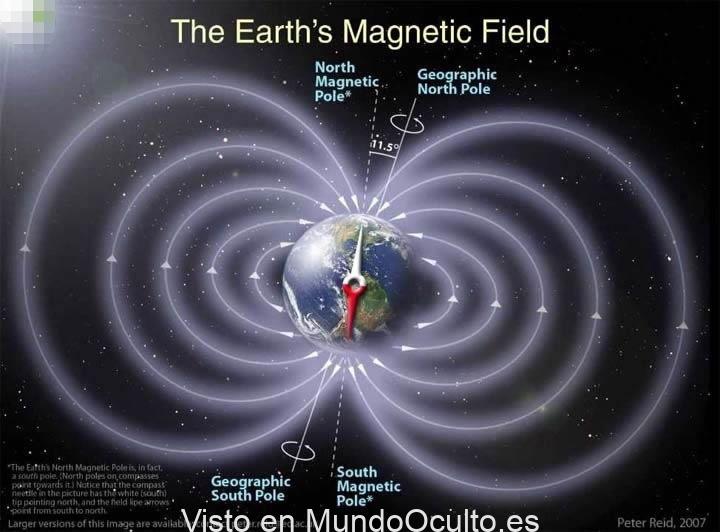 Enigmatica anomalía agrieta el escudo magnético de la Tierra y podría partirse en dos