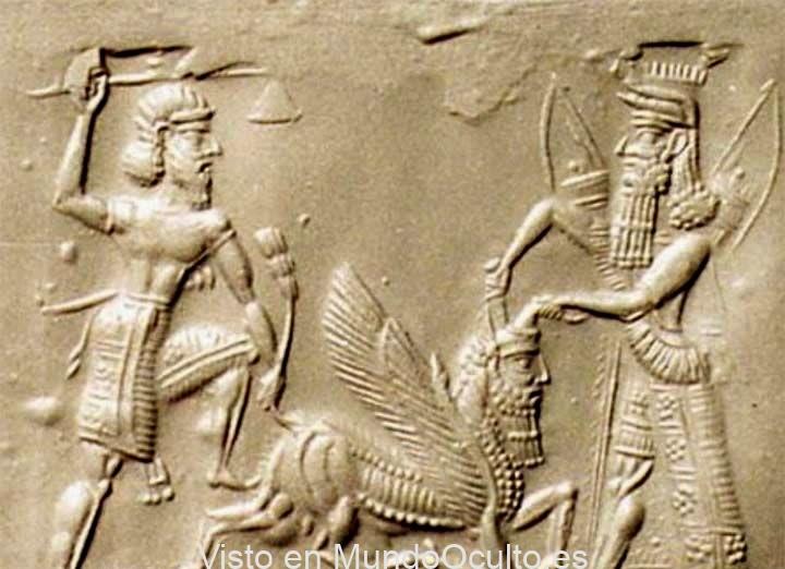 Gilgamesh, Enkidú y su visita al inframundo narrada en una tablilla sumeria