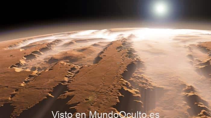 Marte: había oxígeno hace millones de años en el planeta rojo.