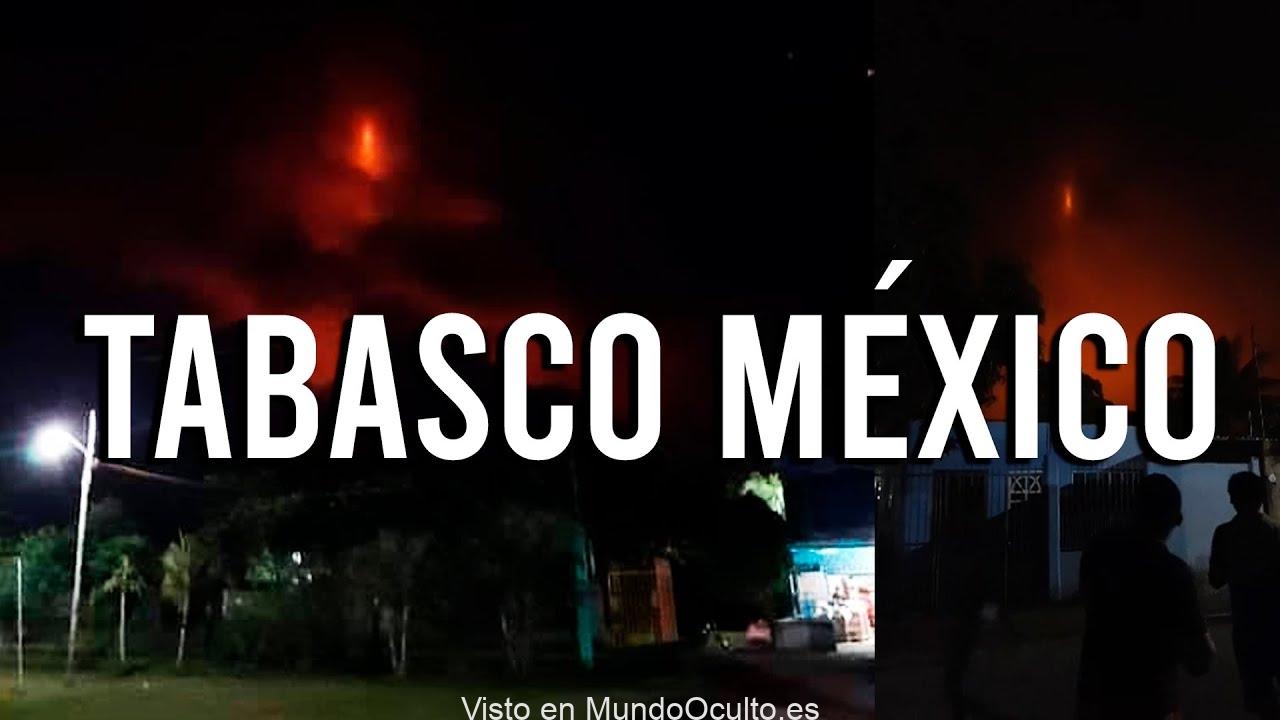 MISTERIOSO PILAR DE FUEGO APARECE EN MÉXICO