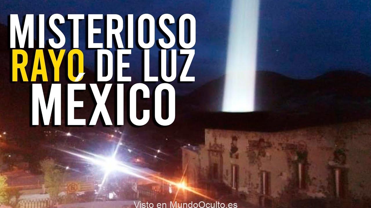 MISTERIOSO RAYO DE LUZ EN REAL DEL CATORCE MÉXICO