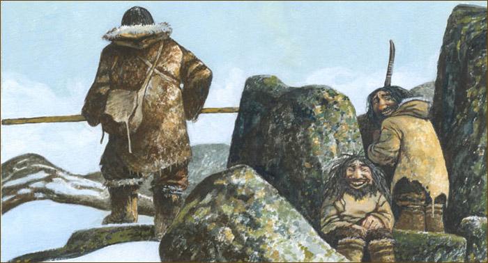 Mitología del Ártico. Demonios del lejano norte