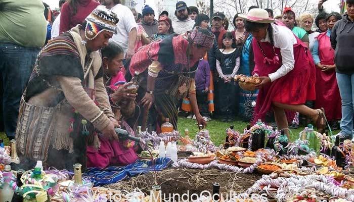 Pacha Mama respetada y temida Deidad Suprema de la villa andino