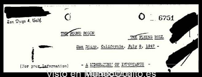 Platillos voladores y extraterrestres gigantes descritos en un factible archivo desclasificado del FBI