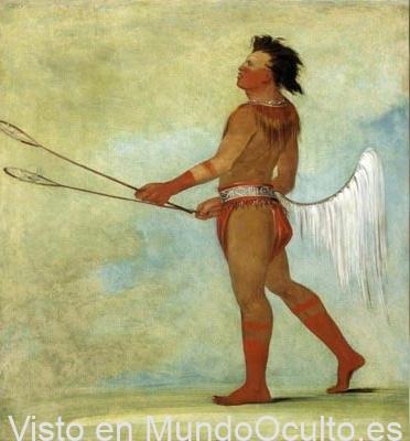 Raza perdida de Gigantes Blancos de las leyendas de tribus nativas americanas