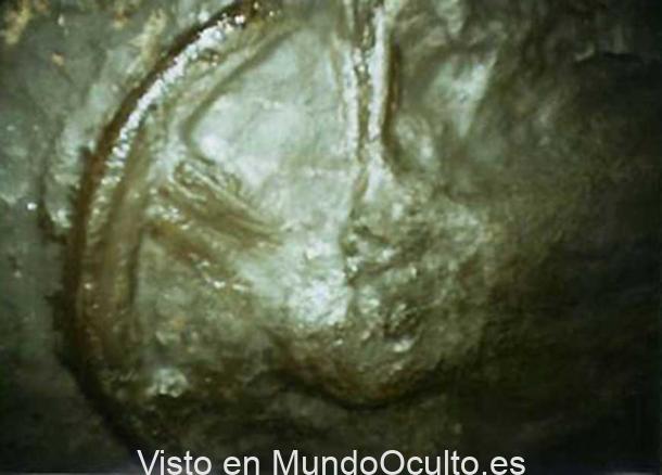 Una «rueda» de 300 millones de años fue hallada en un yacimiento a 900 metros de profundidad