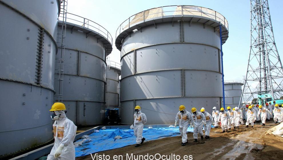 Agua radiactiva de Fukushima podría dañar el ADN humano si se libera, informa Greenpeace