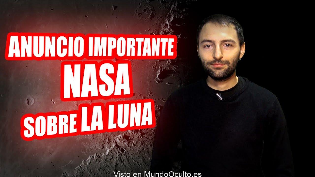 BOMBAZO La NASA está APUNTO DE REVELAR algo importante sobre la LUNA