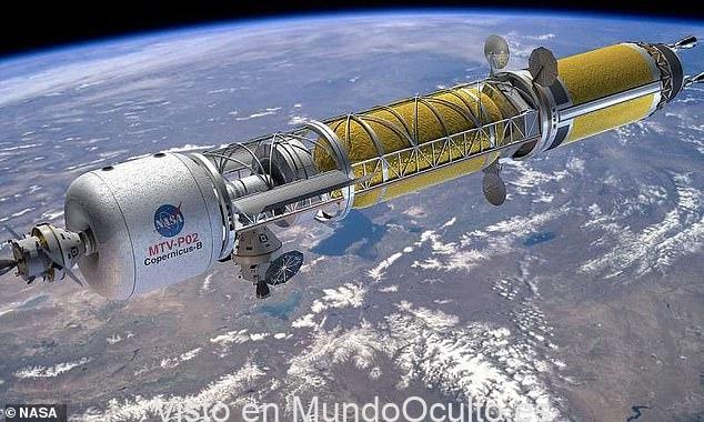 DARPA está considerando mandar un cohete nuclear a la Luna
