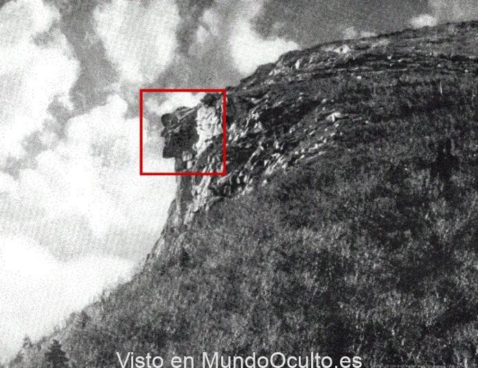dioses en la tierra cuando las rocas adoptan forma humana