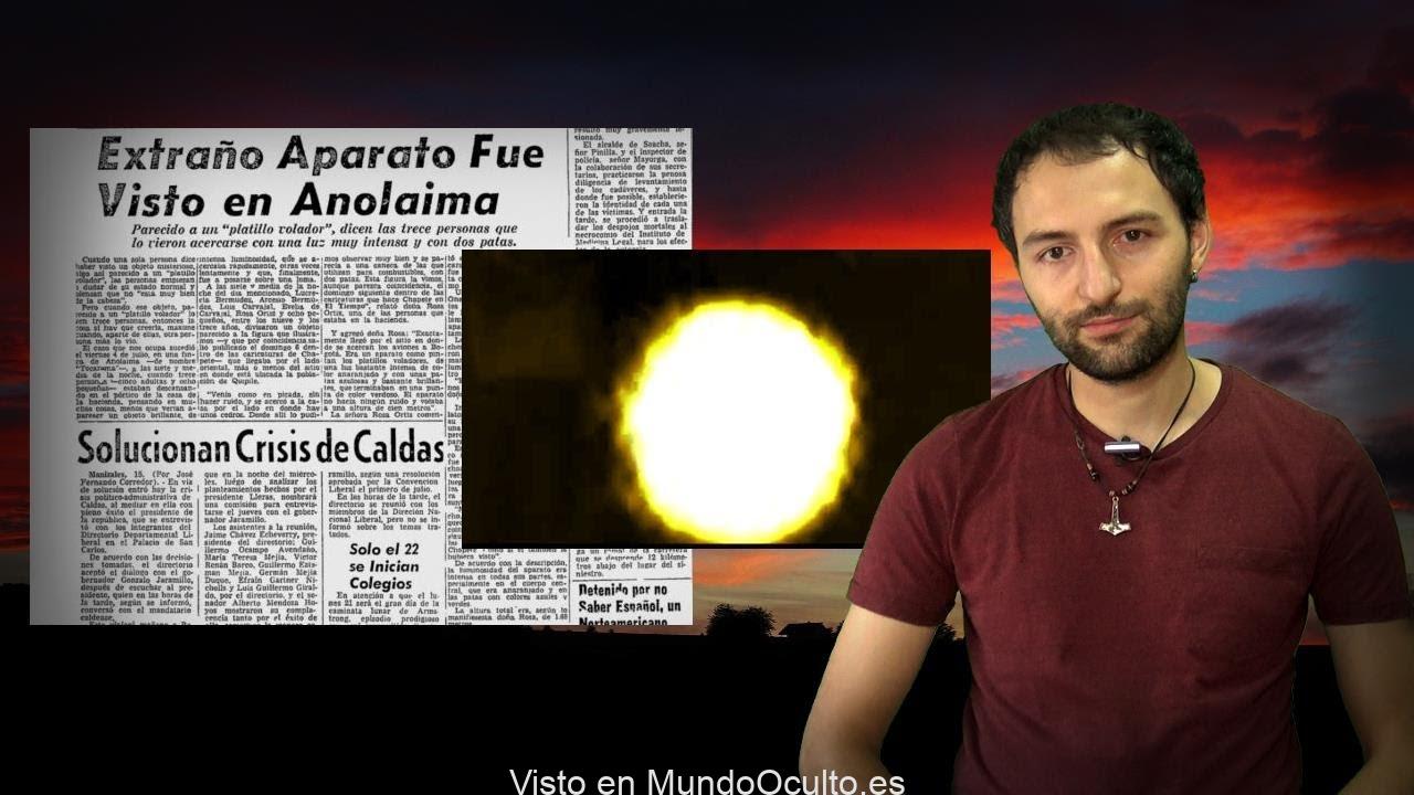 El IMPACTANTE Caso Anolaima, 13 testigos ven un OVNI y les ataca con su resplandor