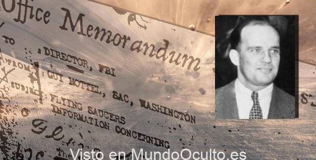 El Memorándum «Guy Hottel» y los Platillos Voladores estrellados en Nuevo México en 1950