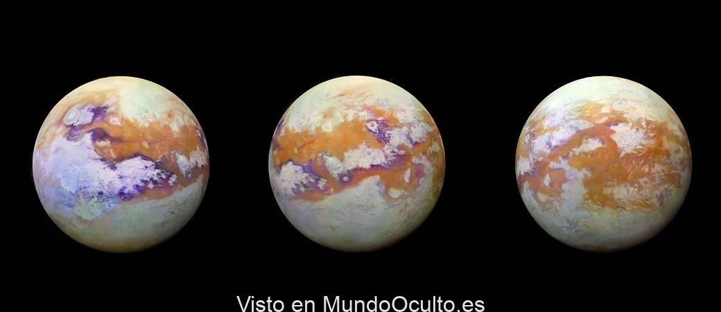 """encuentran """"insolita"""" molécula en Titan no localizada en ninguna otra atmósfera"""