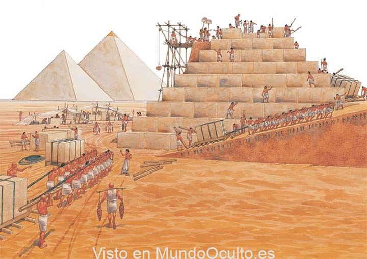 Enigma no escrito: tal vez los viejos egipcios no construyeron las pirámides, pero, ¿quiénes lo hicieron?