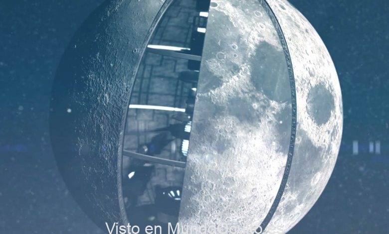 ¿Es la Luna un objeto artificial creado por una raza de extraterrestres muy avanzada? Esto fue sugerido hace décadas por científicos soviéticos y, a pesar de la evidencia científica obvia en su contra, esta teoría todavía tiene partidarios en la actualidad. Crédito: Insh World