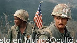 Fuerzas especiales estadounidenses en combate con extraterrestres durante la guerra de Vietnam