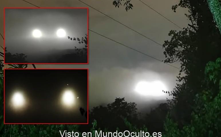 GUATEMALA, increíble aterrizaje ovni en la zona rural de Naca Wil