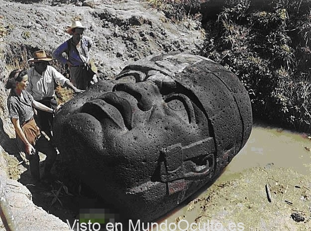 Las enigmáticas colosales cabezas de roca Olmecas