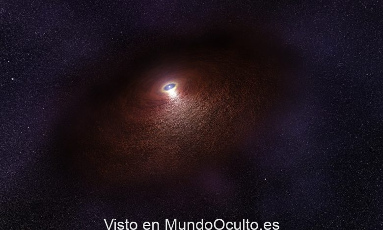 Los astrónomos identifican una misteriosa fuente galáctica que rompe récords