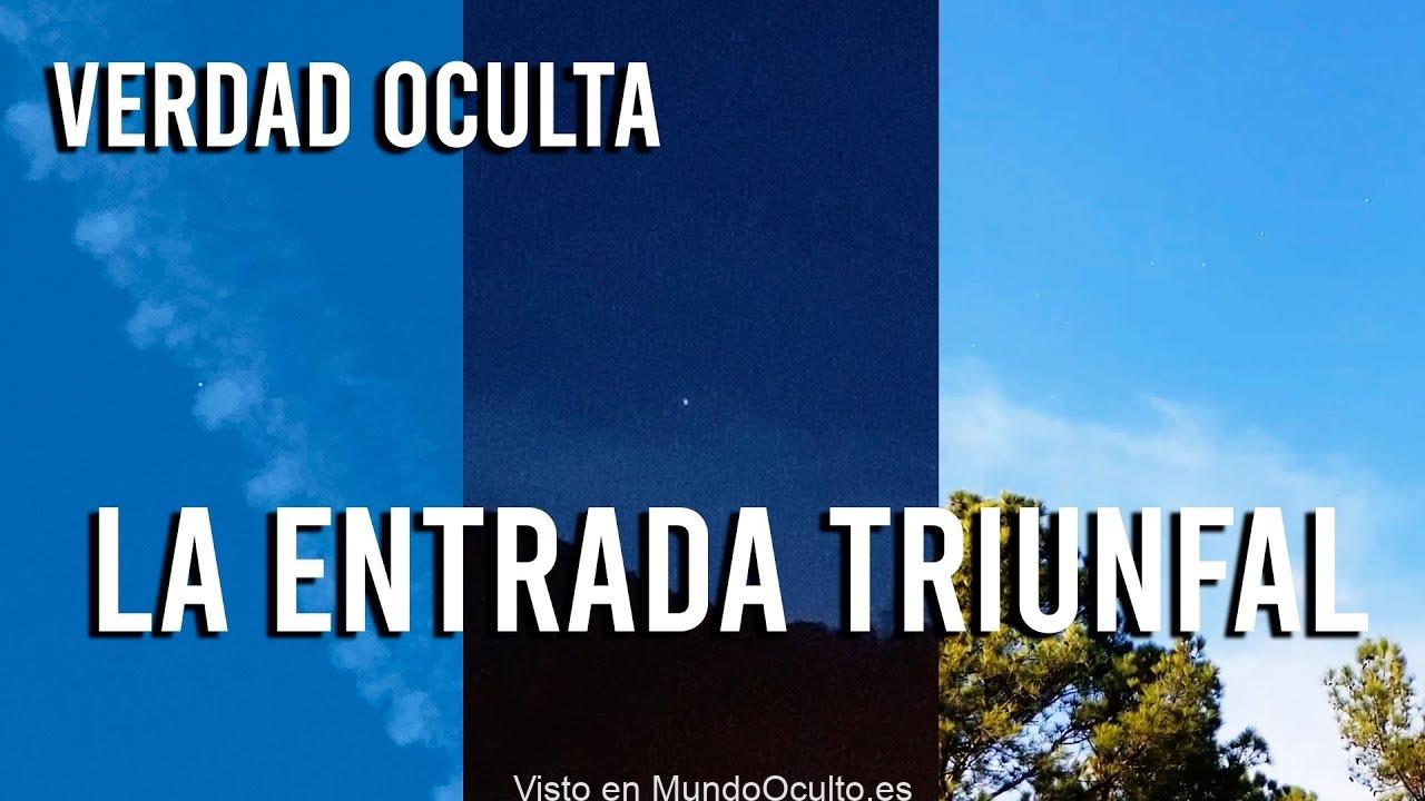 MUCHA ATENCION: ESTÁ MUY PRÓXIMA LA ENTRADA TRIUNFAL DE LOS OVNIS EN NUESTRA REALIDAD