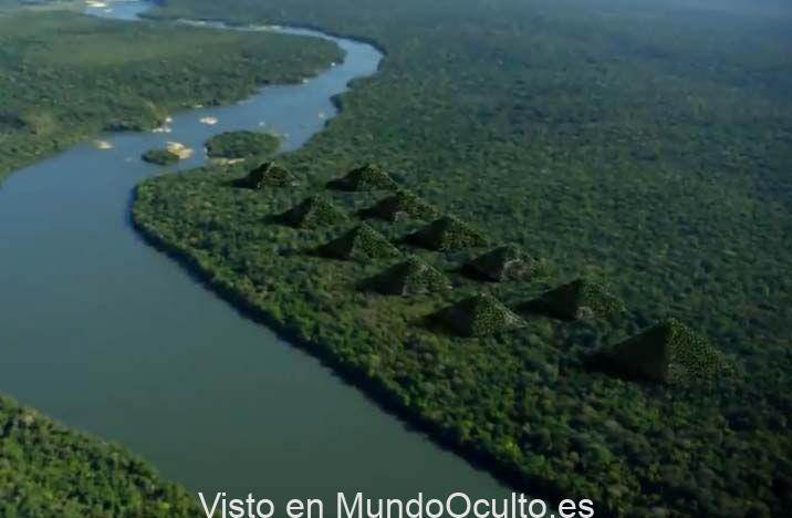 Pirámides de Paratoari: antiguos formaciones descubiertas en el Amazonas por un satélite (VÍDEO)