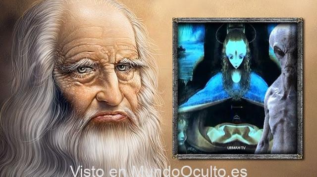 ¿Sabia Da Vinci sobre los Extraterrestre? Los misteriosos mensajes ocultos en sus pinturas