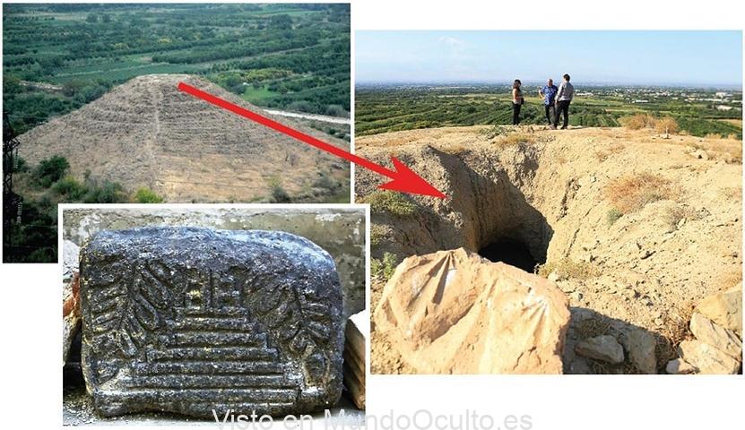 ¿Una antigua pirámide en Armenia? El misterio de la estructura oculta de Dvin