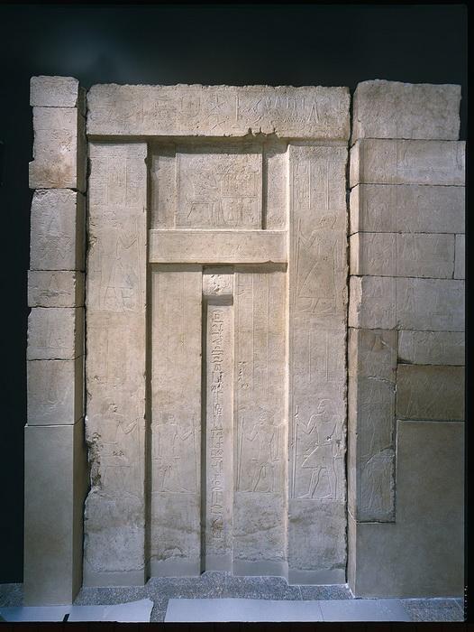 Puerta falsa, Egipto, siglo XXV a.C.