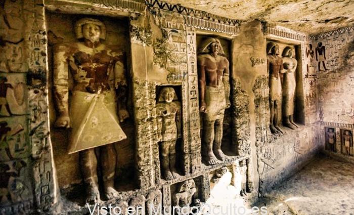 ¿A dónde conducen las puertas falsas en las tumbas del antiguo Egipto y quién podría atravesarlas?