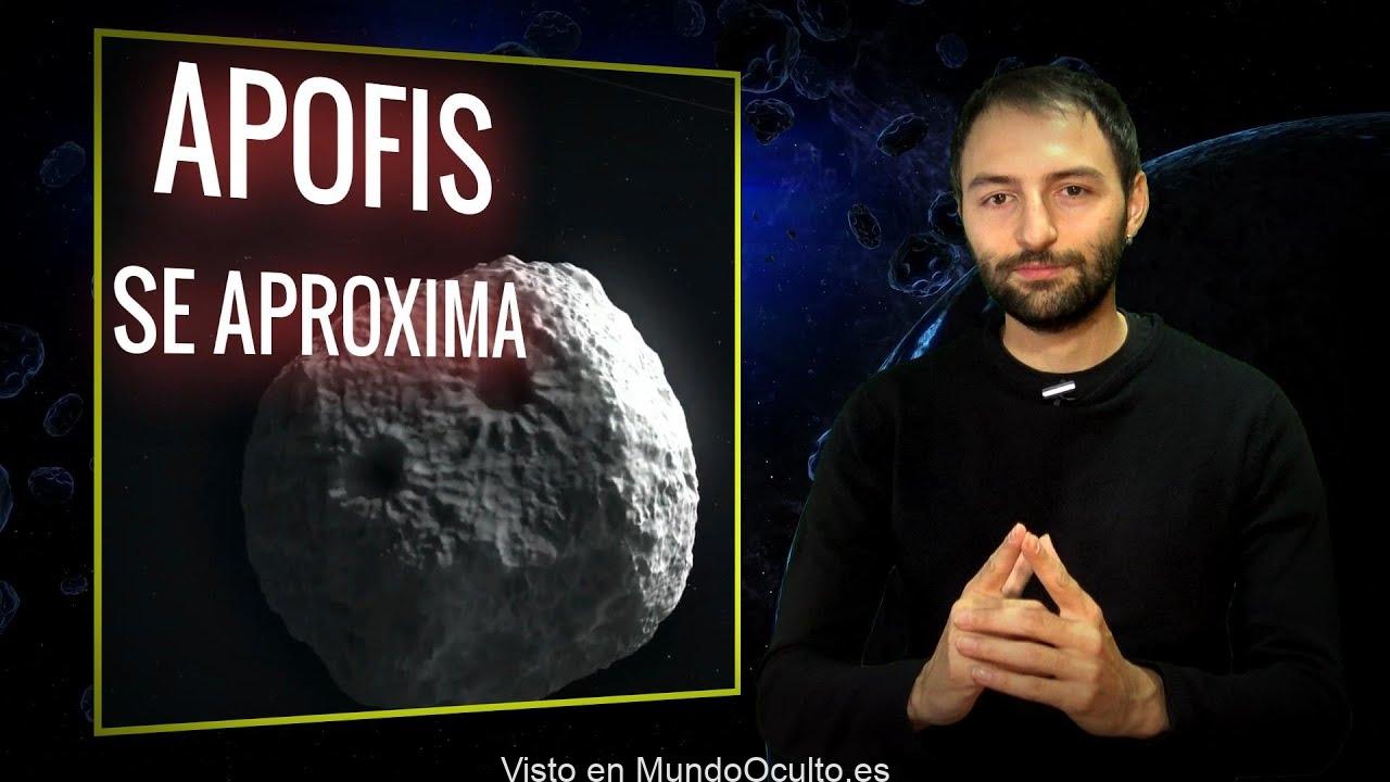 Asteroide 'Apophis' pasará muy cerca de la Tierra