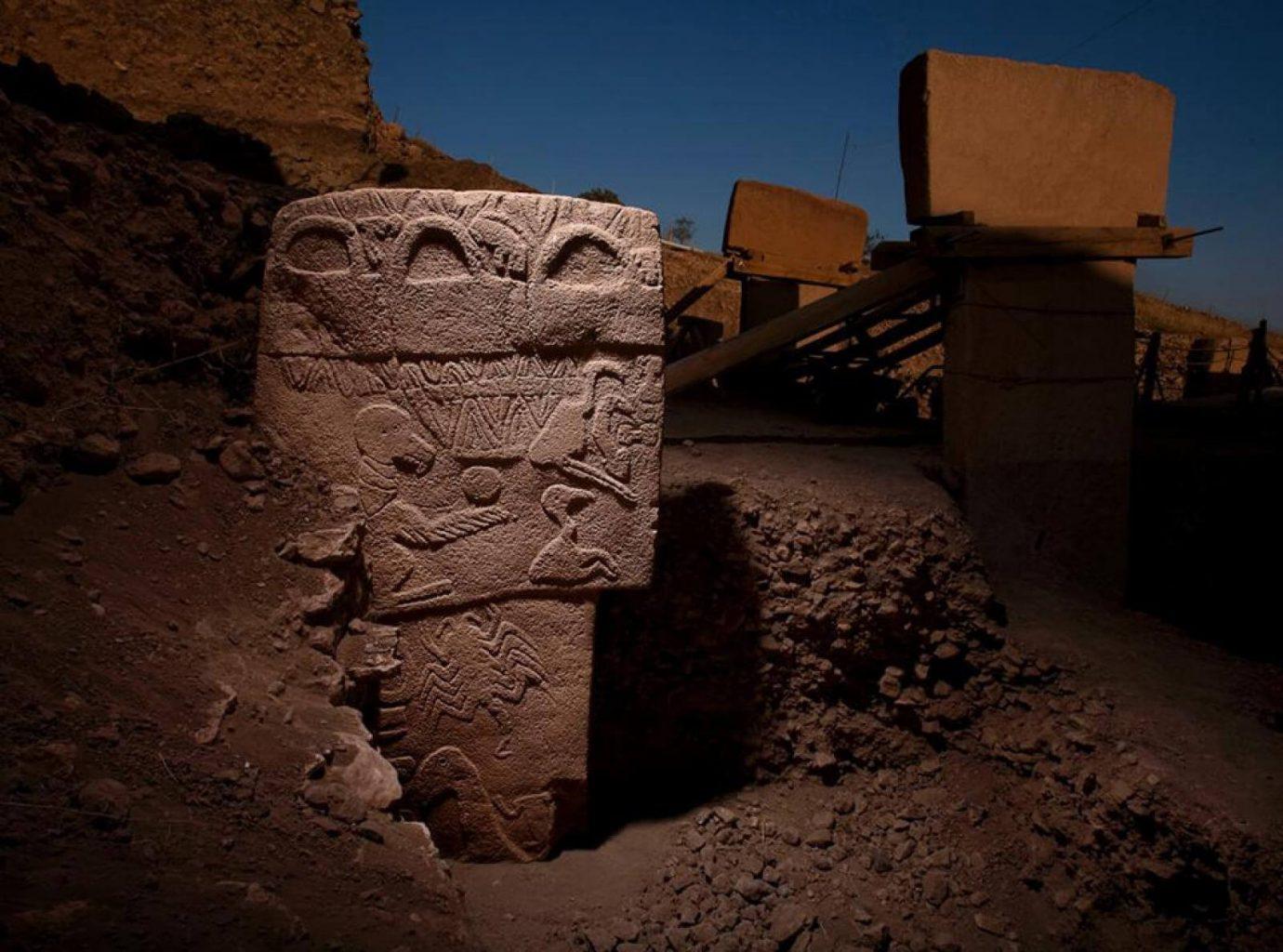 La piedra del buitre de Gobekli Tepe. Crédito: El Proyecto Origen Humano