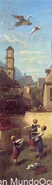 El portador de almas: el mito de la cigüeña en las antiguas creencias