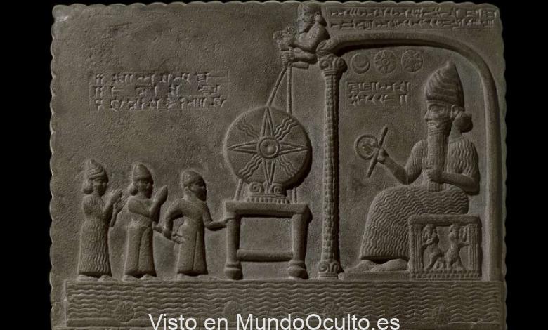 ¿Contiene la tablilla de Shamash evidencia de tecnologías antiguas avanzadas? Crédito: Museo Británico