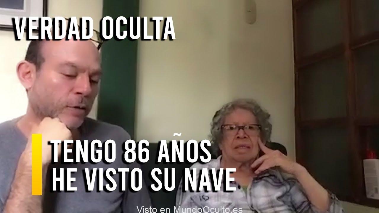 ¡ESCÚCHENME! TENGO 86 AÑOS HE VISTO UNA NAVE Y SUS TRIPULANTES