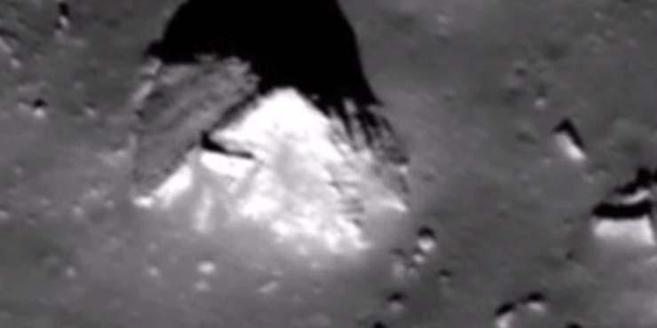 nasa piramide luna - Imágenes de la NASA muestran con toda claridad una pirámide en la Luna