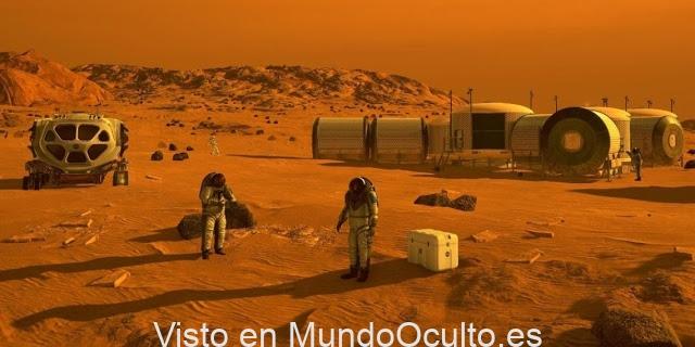 """Ex-trabajador del Programa Espacial Secreto: """"En Marte viven humanos desde el 1970"""""""
