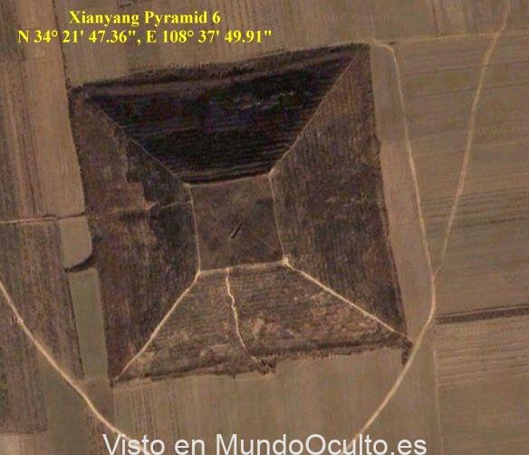 Hace 12.000 años, extraterrestres usaron una pirámide en China como lugar de aterrizaje