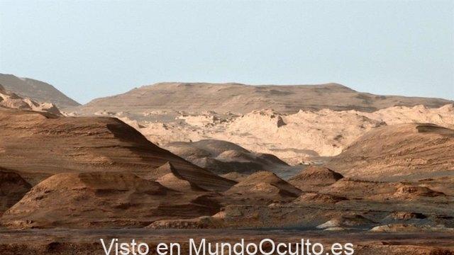 Huellas de megainundación en el ecuador de Marte