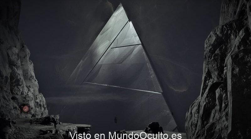 Imágenes de la NASA muestran claramente una pirámide en la luna