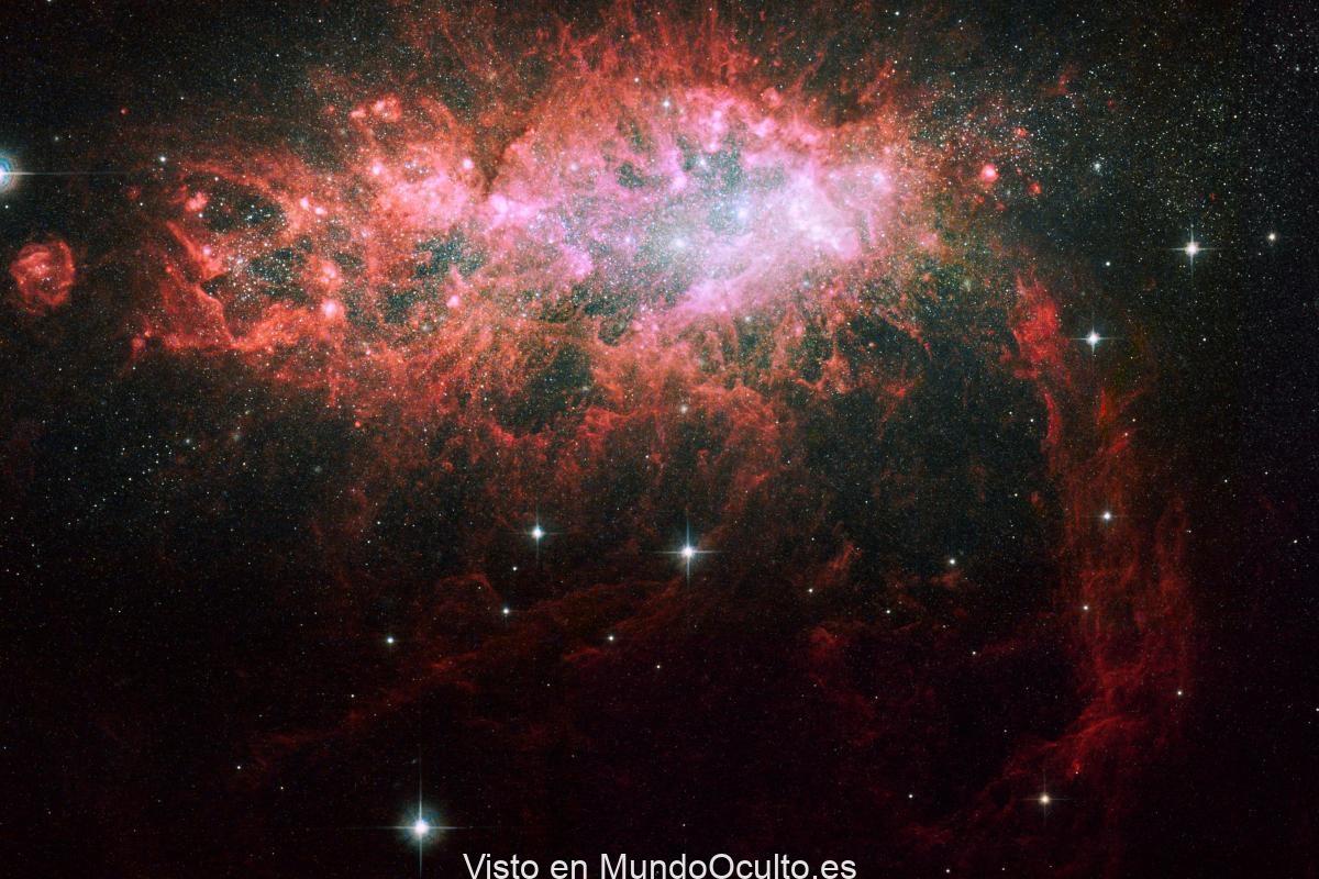 Los investigadores midieron la temperatura media del gas cósmico de hace 10 mil millones de años y la compararon con el gas de la actualidad.