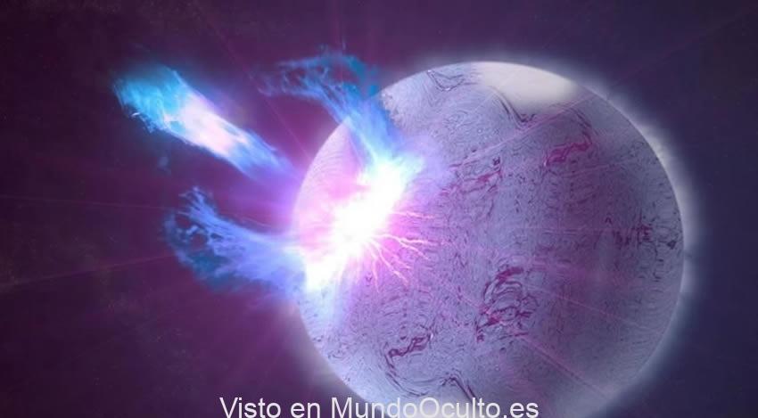 Localizan por vez primera el origen de una potente señal del cosmos hondo